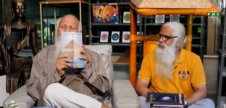 Brahmarshi Patri-ji, founder of Pyramid Spiritual Society Movement, recommending 'The Pyramid Spiral, Dance of the Five Elements'