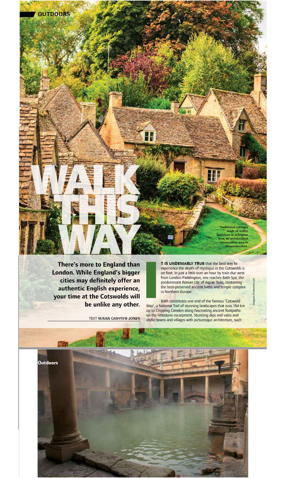 Walk This Way - an article on the Cotswolds, UK