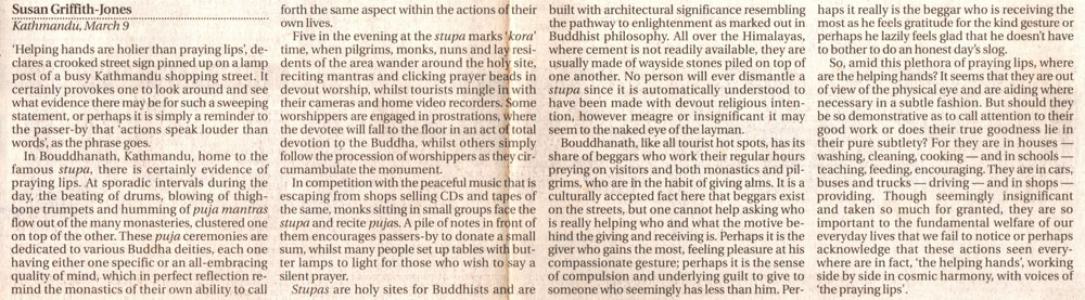 Bouddhanath : Where mysticism mingles with commonplace