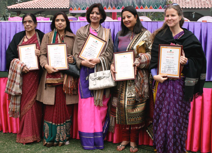 Prize winners of Kalp Taru Arts Awards 2010