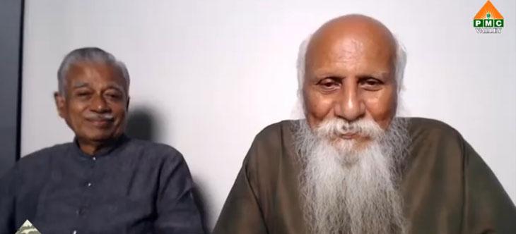 Brahmarshi Patri-ji interacting with panel